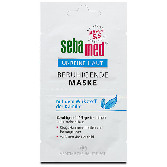sebamed unreine haut beruhigende maske masken im dm online shop. Black Bedroom Furniture Sets. Home Design Ideas