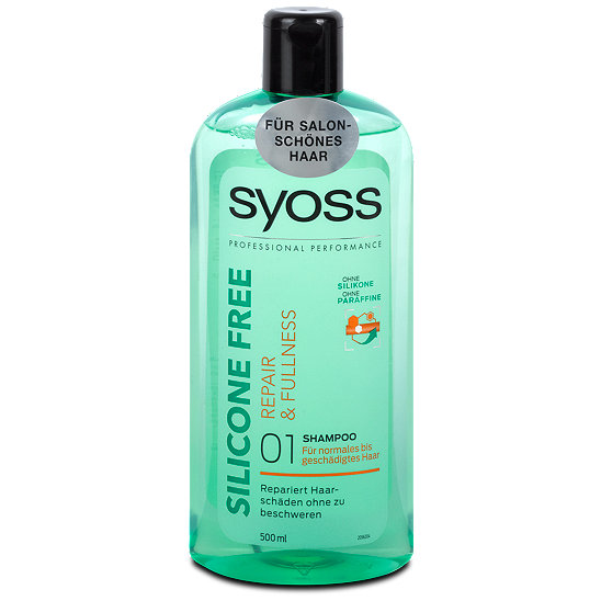 syoss silicone free repair fullness shampoo. Black Bedroom Furniture Sets. Home Design Ideas